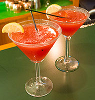 Frozen Daiquiris at Fratelli Restaurant & Bar in LaVale, Maryland